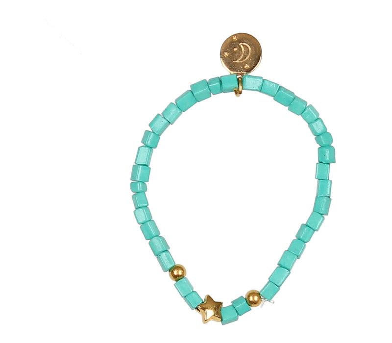 Buho Bracelet Star Aqua