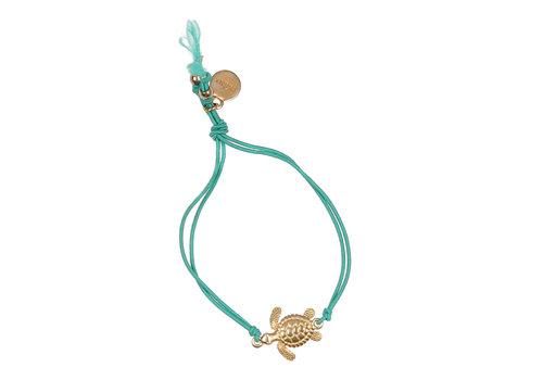 BUHO Buho Bracelet Turtle Aqua