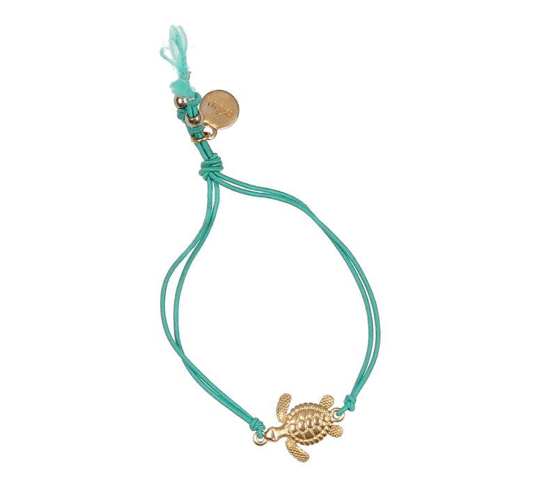 Buho Bracelet Turtle Aqua