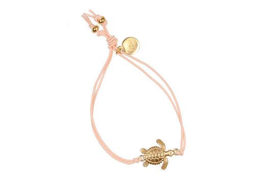 BUHO Buho Bracelet Turtle Coral