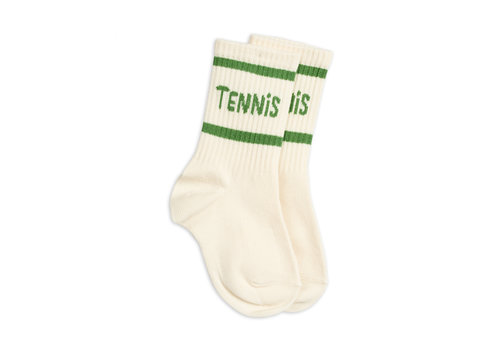 Mini Rodini Mini Rodini Socks Single Offwhite