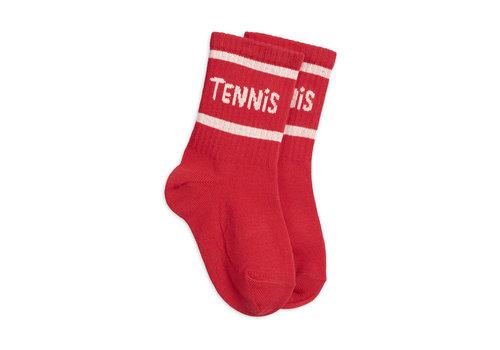 Mini Rodini Mini Rodini Socks Single red
