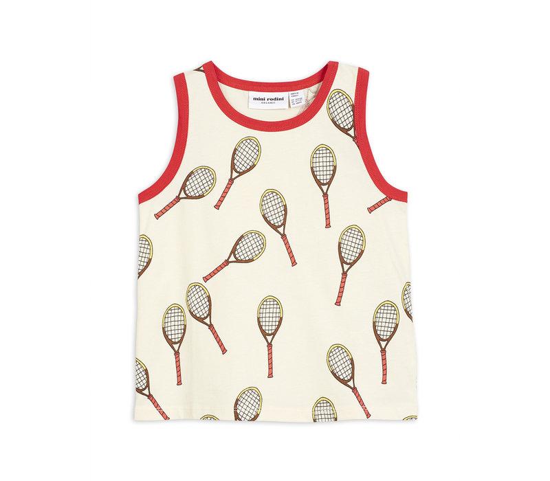 Mini Rodini Tennis aop tanktop