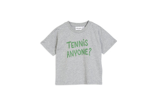 Mini Rodini Mini Rodini Tennis Anyone Tee Grey