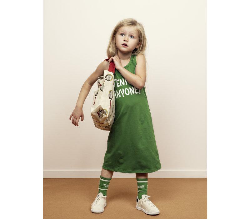 Mini Rodini Tennis Anyone Tankdress green