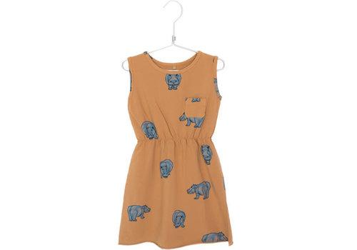 Lötiekids Lotiekids Dress Sleeveless Hipoppotamus Peach