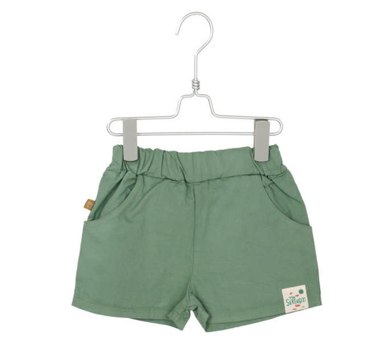 Lotiekids Wide shorts Tree Green