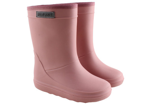 EN FANT Enfant Rain Boot Old Rose