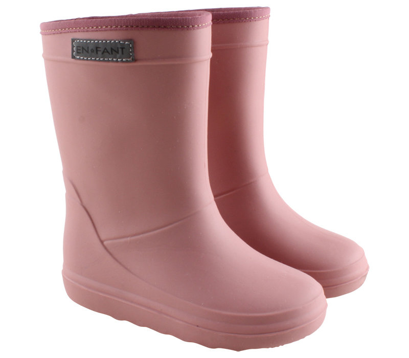 En Fant Rain Boot Old Rose