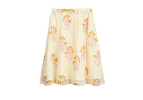 Mini Rodini Mini Rodini Woven Unicorns Skirt