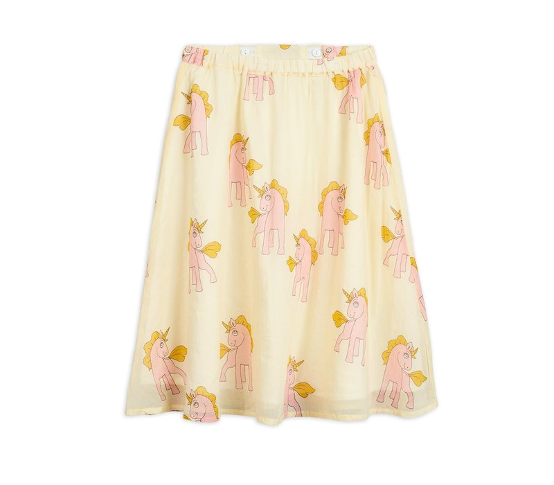 Mini Rodini Woven Unicorns Skirt