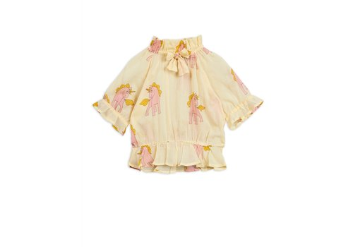 Mini Rodini Mini Rodini Unicorns Woven Blouse