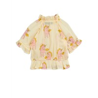 Mini Rodini Unicorns Woven Blouse