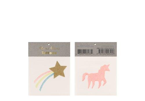 Meri Meri Copy of Meri Meri Unicorn & rainbow tattoos