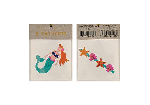 Meri Meri Copy of Meri Meri Seahorse & Shell tattoos