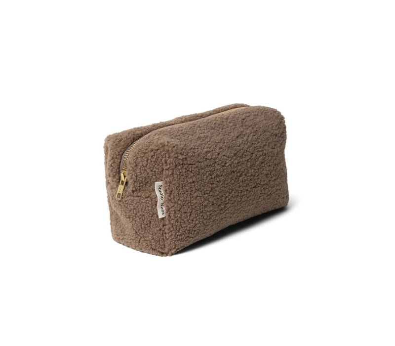 Studio Noos Chuncky Teddy Pouch Brown