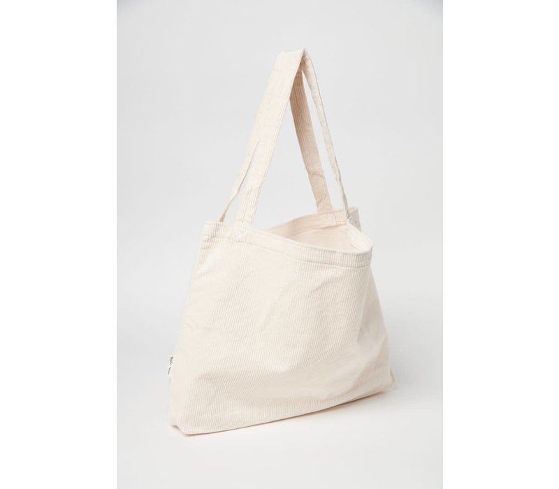 Studio Noos Rib Mom Bag White