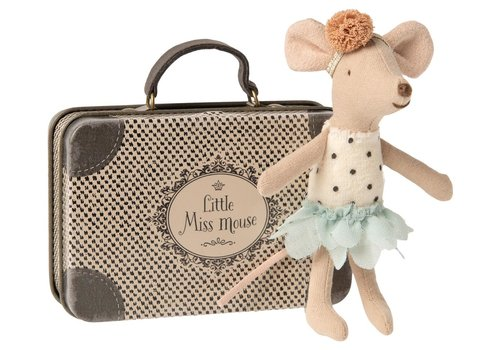 Maileg Maileg Little Miss Mouse in suitcase, little sister