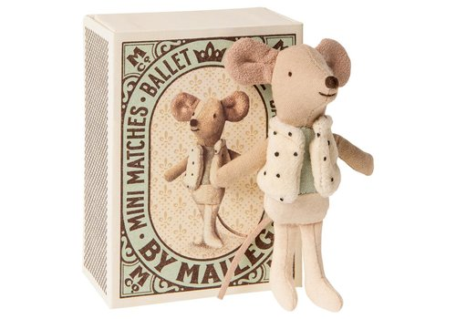 Maileg Copy of Maileg Little Miss Mouse in suitcase, little sister