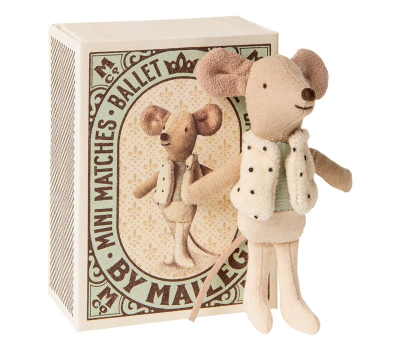 Copy of Maileg Little Miss Mouse in suitcase, little sister