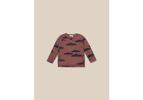 Bobo Choses Bobo Choses Clouds All Over Buttoned T-shirt