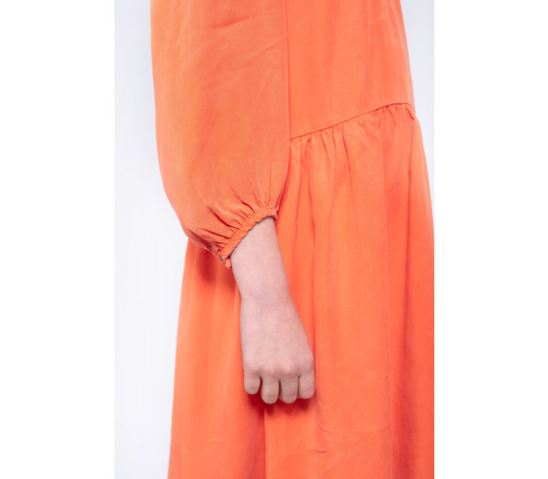 Repose AMS 20. foxy dress Shoking Orange Red
