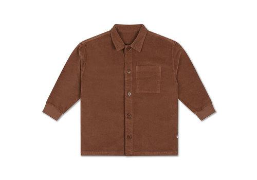 Repose AMS Repose AMS 37. Classic Shirt Chocolat Brown