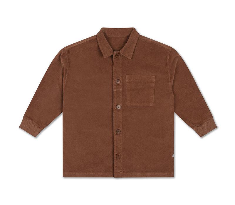 Repose AMS 37. Classic Shirt Chocolat Brown