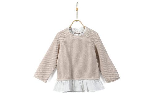 Donsje Donsje Flossy Sweater Soft Sand