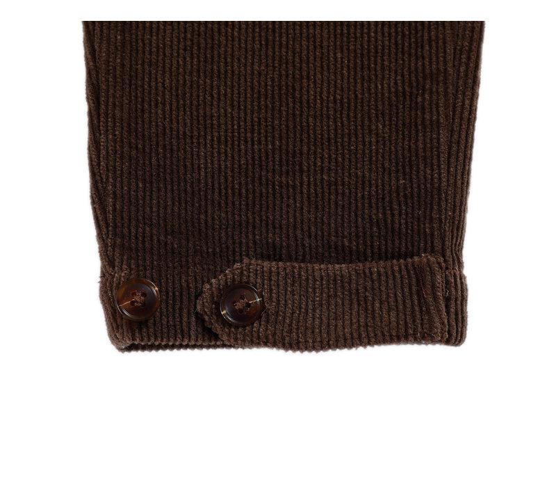 Donsje Bo Trousers Cocoa Brown