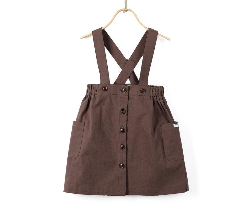 Donsje Evi Skirt Vintage Brown