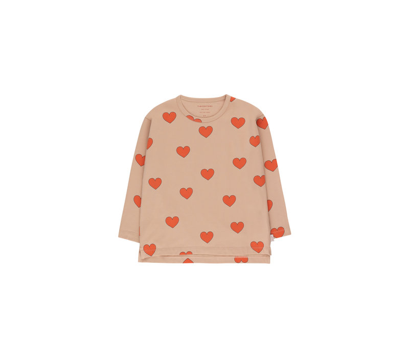 """Tinycottons_AW20-017_""""HEARTS"""" TEE"""