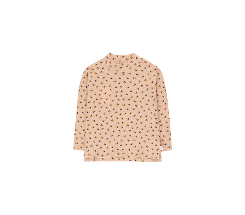 Tinycottons_AW20-087_Mockneck Flower TEE