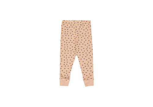 TINYCOTTONS Tinycottons_AW20-090_TINY Flowers Pants_Nude/navy