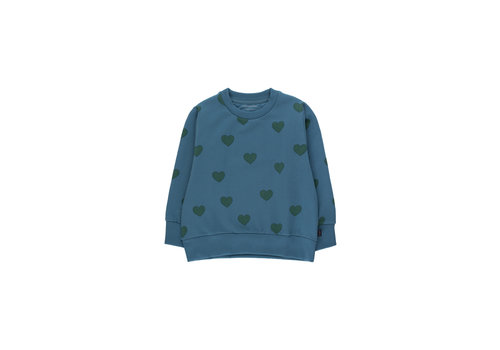 """TINYCOTTONS Tinycottons_AW20-108_""""HEARTS"""" SWEATER"""