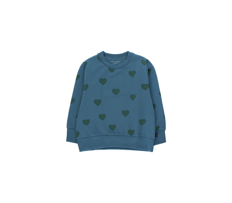 "Tinycottons_AW20-108_""HEARTS"" SWEATER"