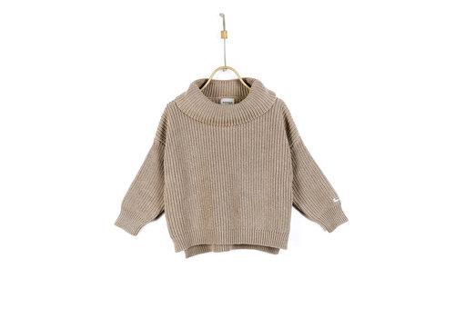 Donsje Donsje Yara Sweater Light Mocha Melange