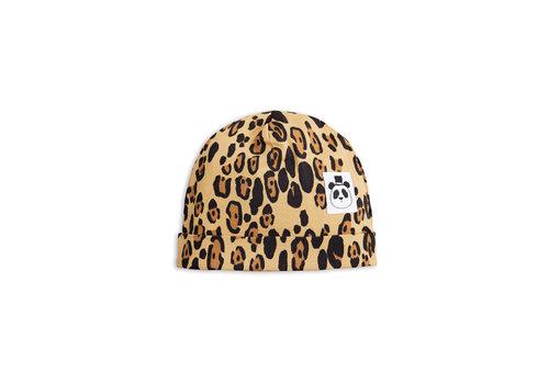 Mini Rodini Mini Rodini Leopard Beanie