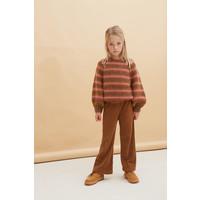 Longlivethequeen_Flared Pants_Golden brown