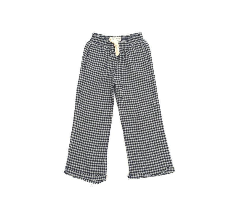 Longlivethequeen_Check Pants_Blue check