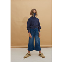 Longlivethequeen_Denim Trousers_Blue