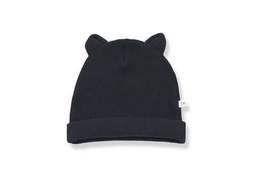 1+ IN THE FAMILY 1+ in the Family_Mull_Beanie w/ears_Blue notte