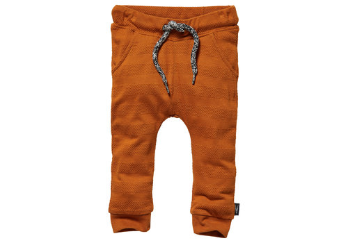 LEVV Levv_Pants_rust stripe