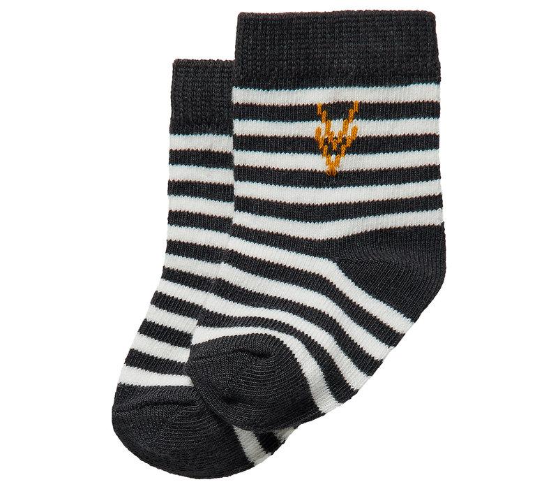 LEVV_Newborn sokken_Stripe