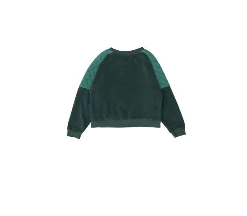 The Campamento Green Contrasted Sweater TC-AW20-24