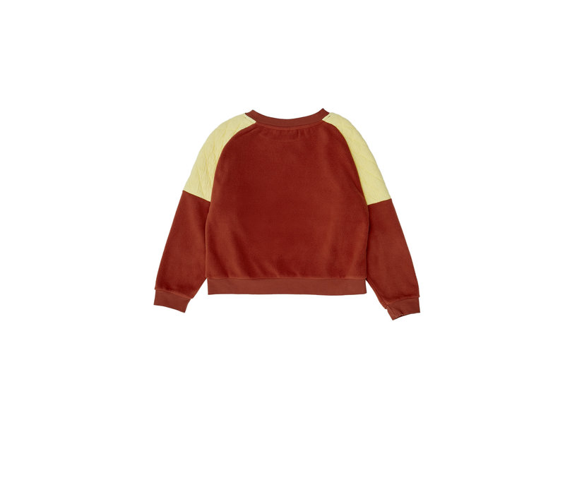 The Campamento Brown Contrasted Sweater TC-AW20-25