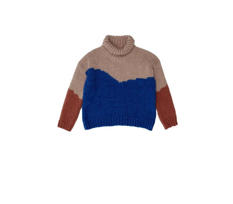 The Campamento Color Block Sweater TC-AW20-29