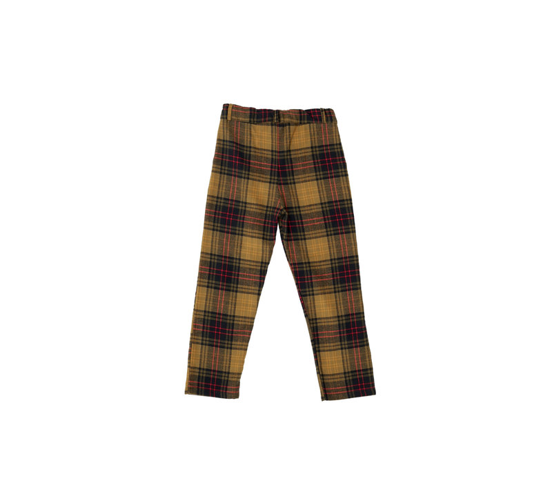 The Campamento Checked Trousers TC-AW20-37