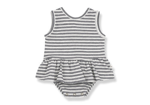 1+ IN THE FAMILY 1+ in the Family Ceret Body-dress Blue notte