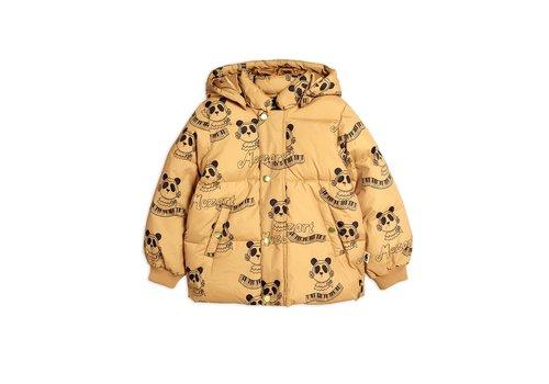 Mini Rodini Mini Rodini Mozart panda puffer jacket